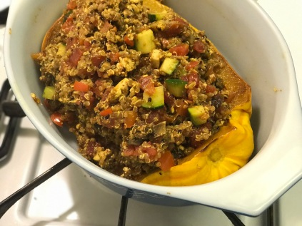 Curried Stuffed Delicata Squash – aliengyrl